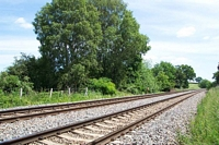 Cutnall Green halt Stourbridge platform site