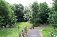 Darlaston station site