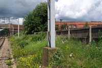 Darlaston (James Bridge) station Bescot platform site