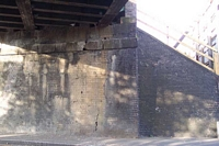 Decaying bridge structure, Ettingshall Road