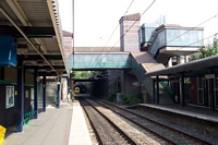 Five Ways station looking towards the City