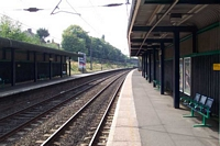 Five Ways station looking South