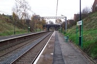 Gravelly Hill station view to Birmingham