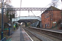 Gravelly Hill station towards Lichfield