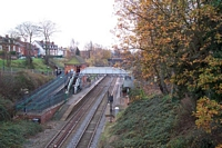 Gravelly Hill station view from Hunton Hill Road