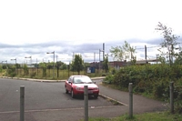 Handsworth & Smethwick station site from driveway