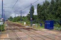 Handsworth & Smethwick station looking towards Wolverhampton