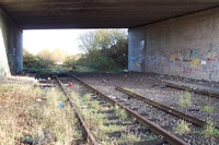 End of the line at Harts Hill station site
