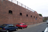 Hockley station old warehousing, Pitsford Street