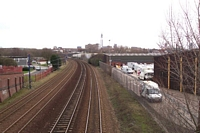 Hockley station site