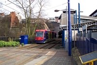 Jewellery Quarter station looking towards Snow Hill