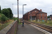 Kidderminster station old goods shed