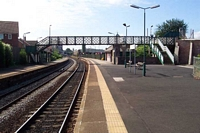 Langley Green station viewed from Birmingham platform