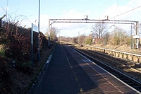 Lea Hall station towards Birmingham
