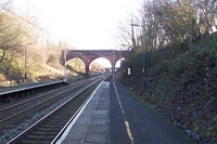 Lea Hall station towards Marston Green