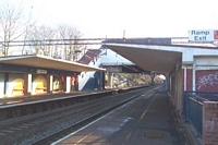 Lea Hall station viewed from Birmingham platform