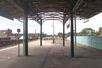 Lichfield City station looking towards Shenstone