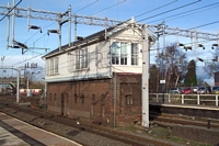 Lichfield Trent Valley station Signal box No.1