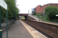 Lye station looking towards Stourbridge