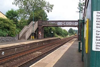 Lye station looking towards Birmingham