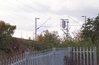 Monmore Green station site from Landport Road