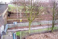 Site of Monument Lane signal box