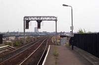 Moor Street station looking towards Bordesley