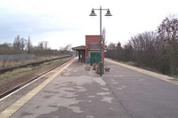 Olton station looking towards Lemaington Spa