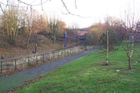 Priestfield station site towards Bilston West