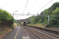 Smethwick Rolfe Street station looking towards Birmingham