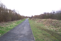 Rushall station site towards Walsall