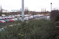 Sandwell & Dudley station car park