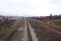 Small Heath station looking towards Birmingham