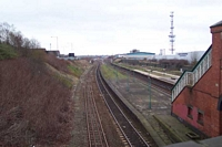 Small Heath station looking towards Tyseley