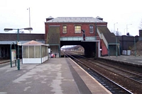 Small Heath station view from island platform