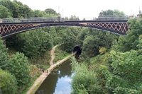 Galton Bridge viewed from high level