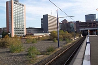 Snow Hill station wasteground where one track lay!
