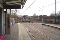 Soho & Winson Green station looking towards Birmingham