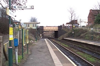Spring Road station looking towards Birmingham