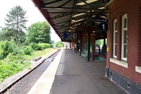 Looking towards Stourbridge Town station
