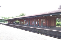 Stourbridge Junction station platforms 2 & 1