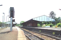 Stourbridge Junction station view from platform 3