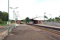 View of Stourbridge Junction station from platform 1