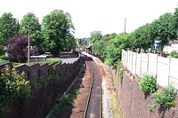 Stourbridge Town branch cutting under Parkfield Road