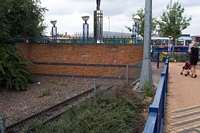 Stourbridge Town station end of the line!