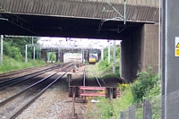 Tame Bridge Parkway station looking towards Bescot