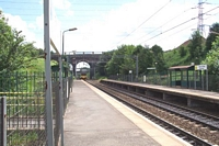 Tame Bridge Parkway station looking towards Birmingham
