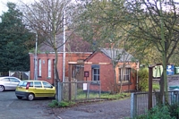 Tettenhall station booking hall and weighbridge office