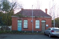 Tettenhall station booking hall frontage