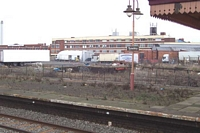 Tyseley station disused sidings and ex-goods yard